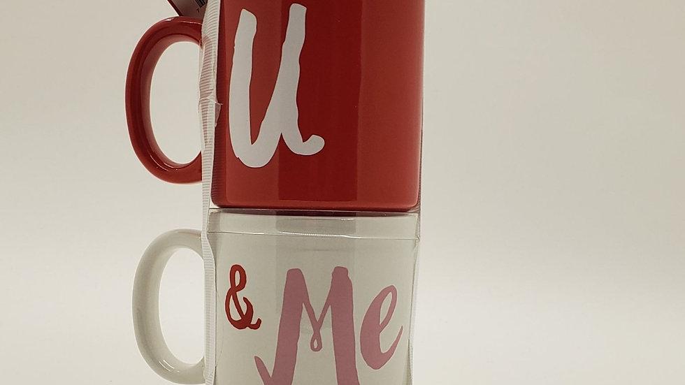 U & Me mug set
