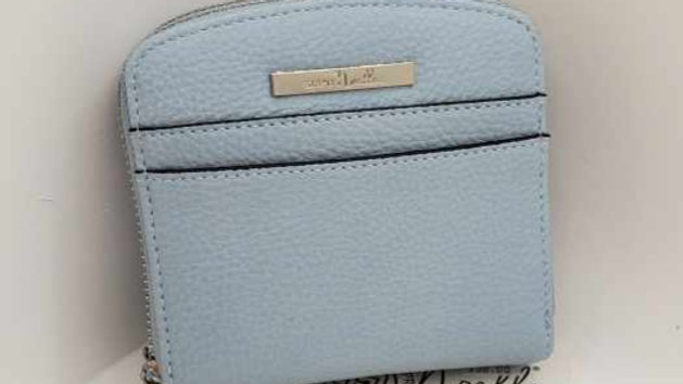 Small Ladies Wallet Blue