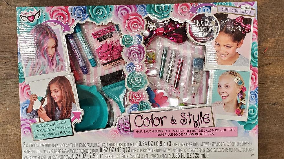 Color & Style Hair Salon Set