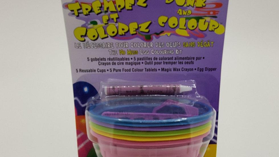 Easter Egg Kit Dunk & Color