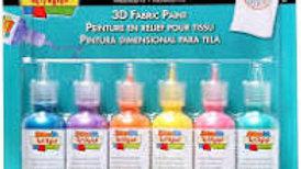 Scribbles 3D Fabric Paint - Iridescent