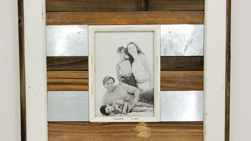 Wood & Metal Frame