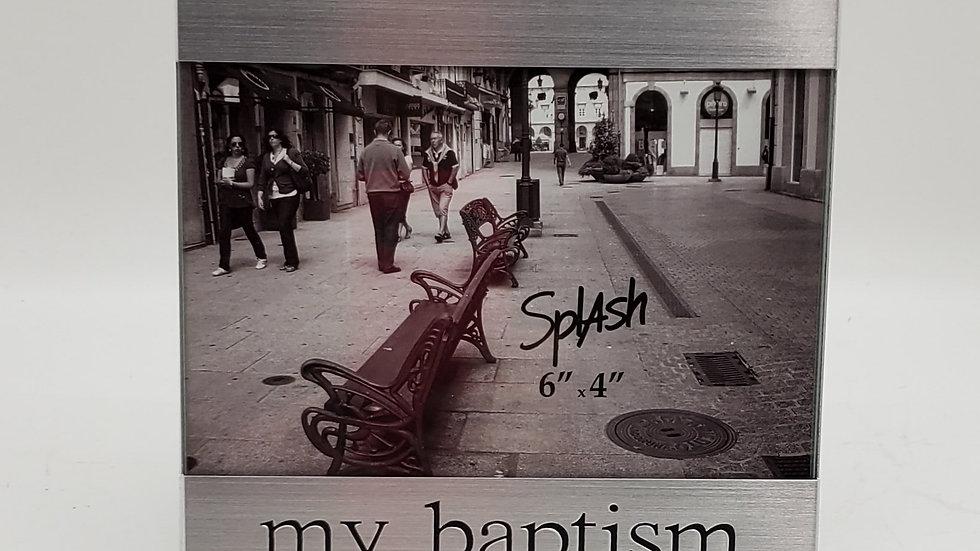 My Baptism frame