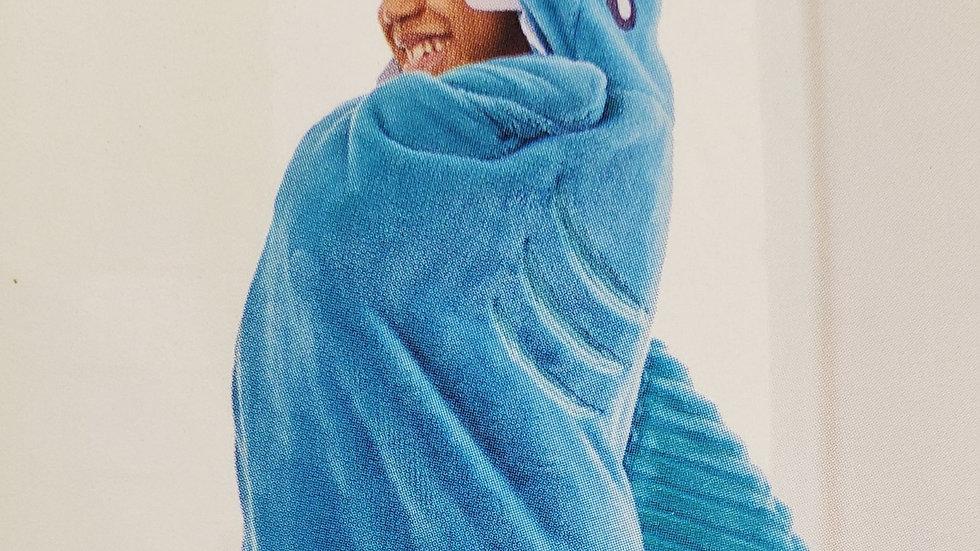 Plush Shark Blanket