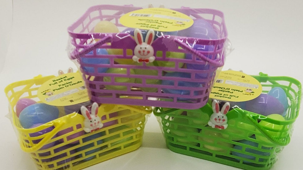 Basket Full of 20 Eggs
