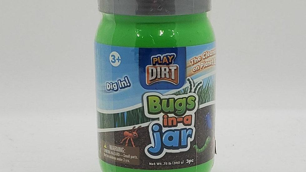 Play Dirt Bugs in-a Jar