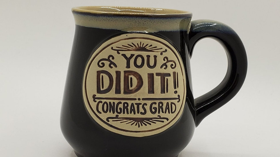 You Did It Grad mug