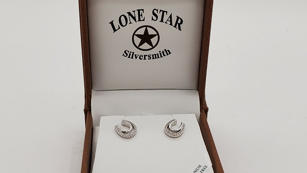 Silver Horseshoe earrings