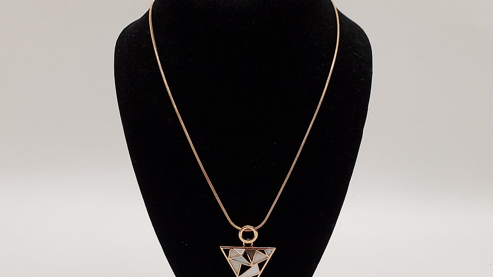 Rose Gold Triangle Set
