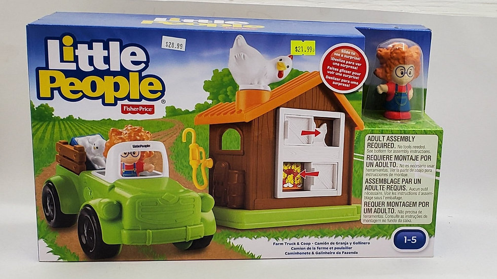 Little People Farm Truck & Coop