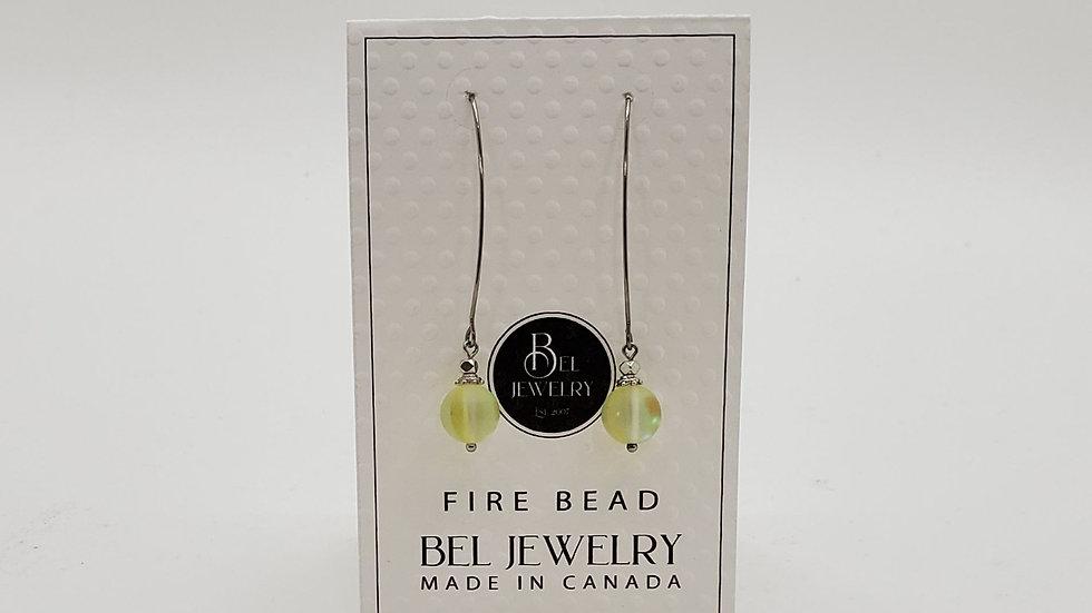 Fire Bead earrings