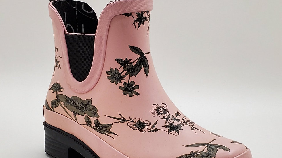 Raine Boot rose floral