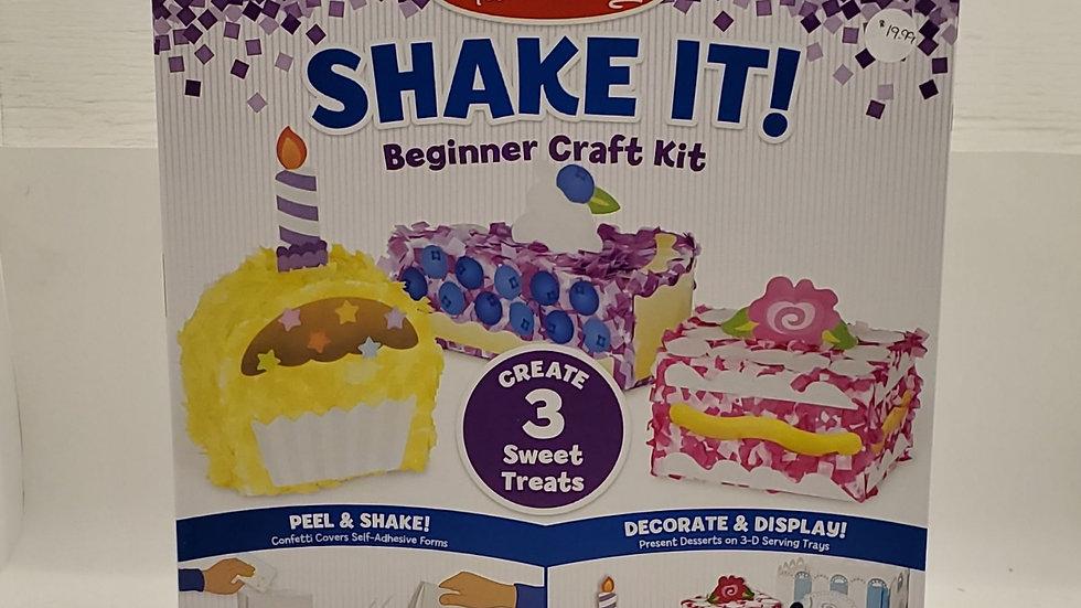 Shake It Craft Kit- Sweet Treats