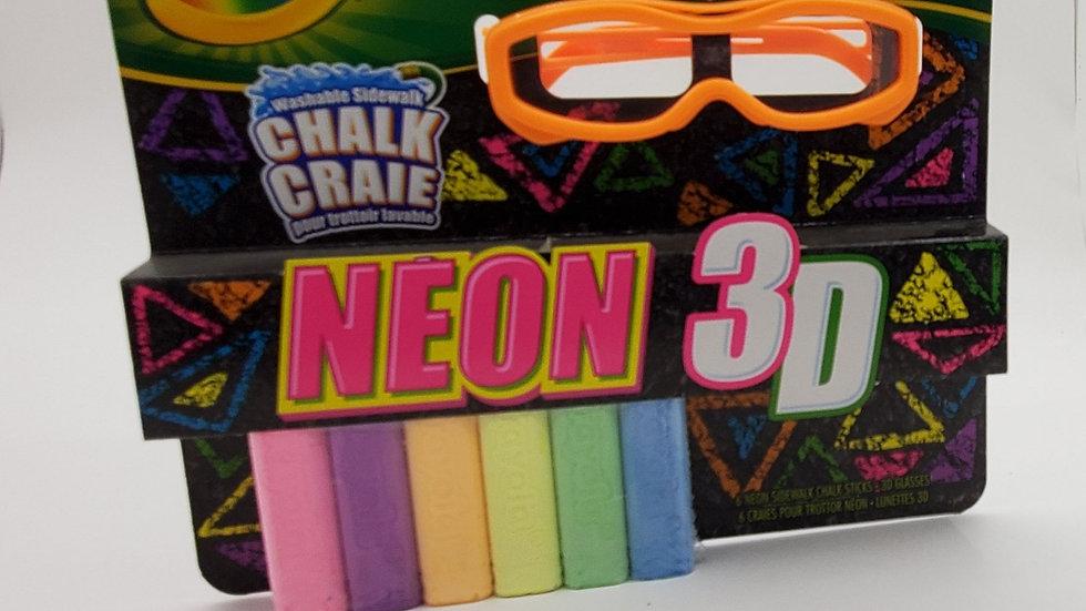 Crayola Neon 3D Chalk