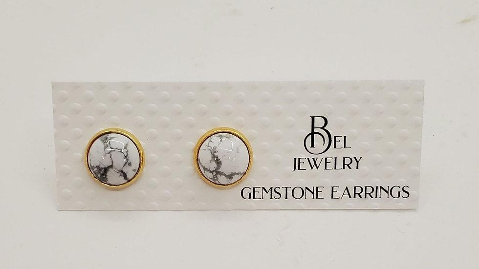 Bel Jewelry gemstone earrings