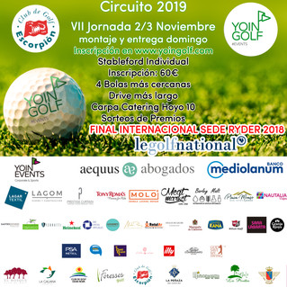 VII JORNADA YOINGOLF ESCORPIÓN