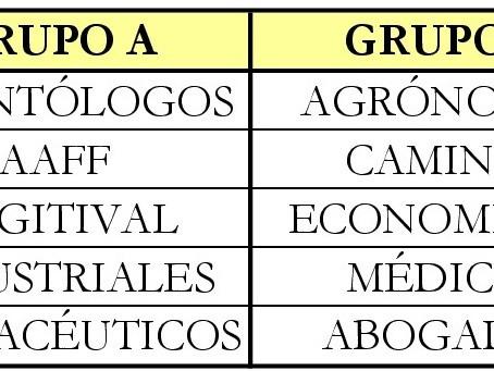 COMIENZA LA RYDER DE COLEGIOS PROFESIONALES