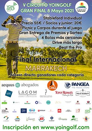 SALIDAS FINAL NACIONAL YOINGOLF OLIVA NOVA 08/05/2021