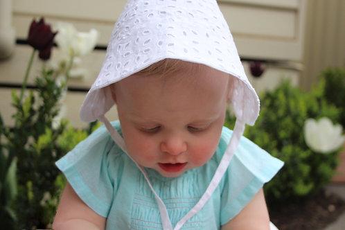 frankie keen Sun Bonnet - White