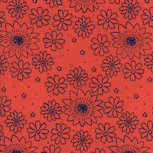 Cotton+Steel - Poppy Posy (1/2m)