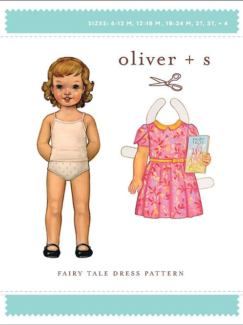 O+S FAIRY TALE DRESS SEWING PATTERN (5-12)