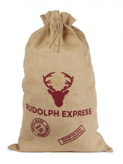 Natural Jute Sack-Rudolph Express
