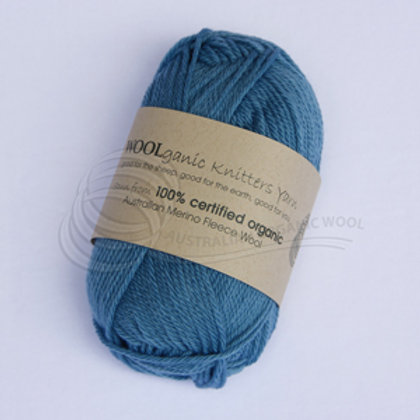 Australian Organic Wool - Raindrops 8 ply