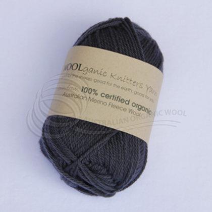 Australian Organic Wool - Charbon 8 ply