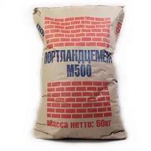 Цемент Портландцемент М-500 МКУ 40 кг