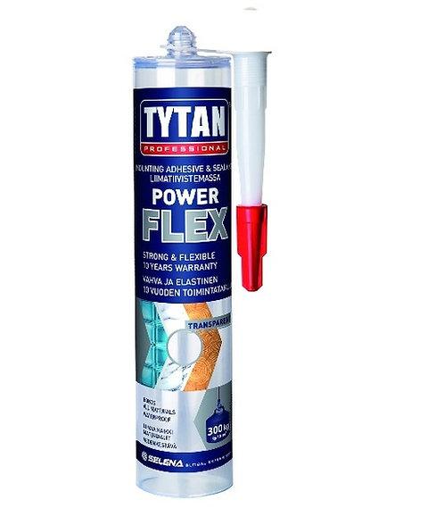 """Клей монтажный """"TYTAN professional"""" Power Flex акрилатный, белый, универсальный,"""