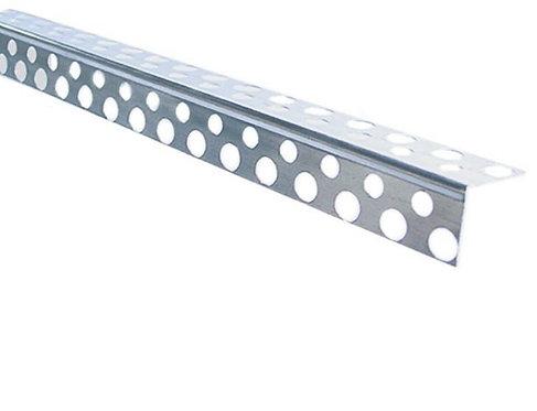 Профиль угловой алюминиевый перфорированный 20х20х3000