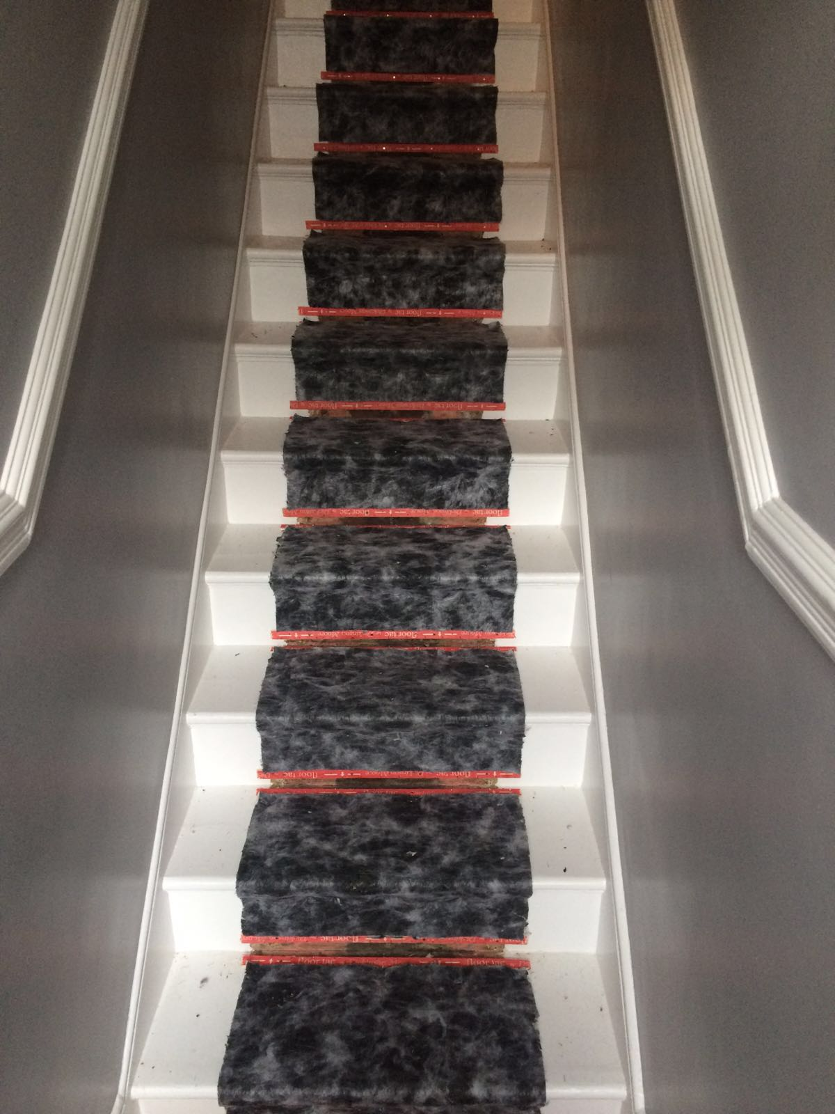 Staircase Runner Preparation