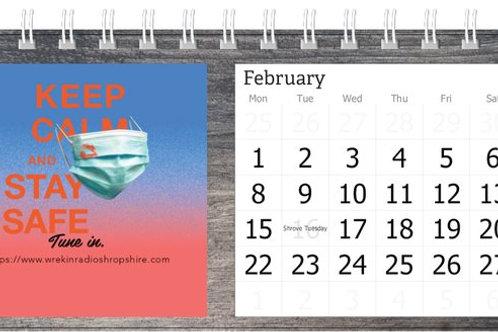 WRS - Phase5Records - Desktop Calendar
