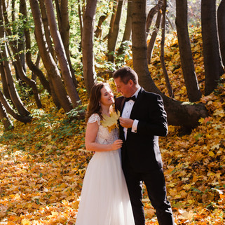 Sesja ślubna jesień warszawa