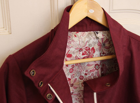 Pattern Review: Kelly Anorak by Closet Case Patterns