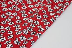 Viscose Jersey - Hibiscus Red - 1/2 metre
