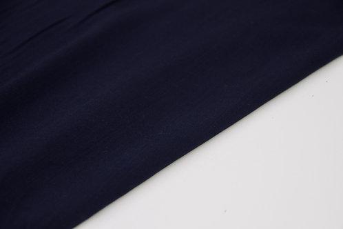 Viscose - Linen Look Navy - 1/2 metre