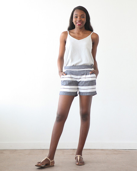 Mid-rise Emerson Shorts and Cami