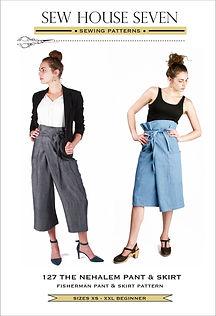 Sew House Seven - Nehalem Pant & Skirt