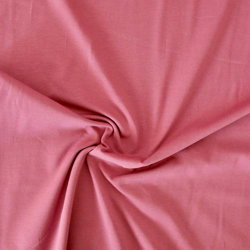 Cotton Jersey - Vintage Rose