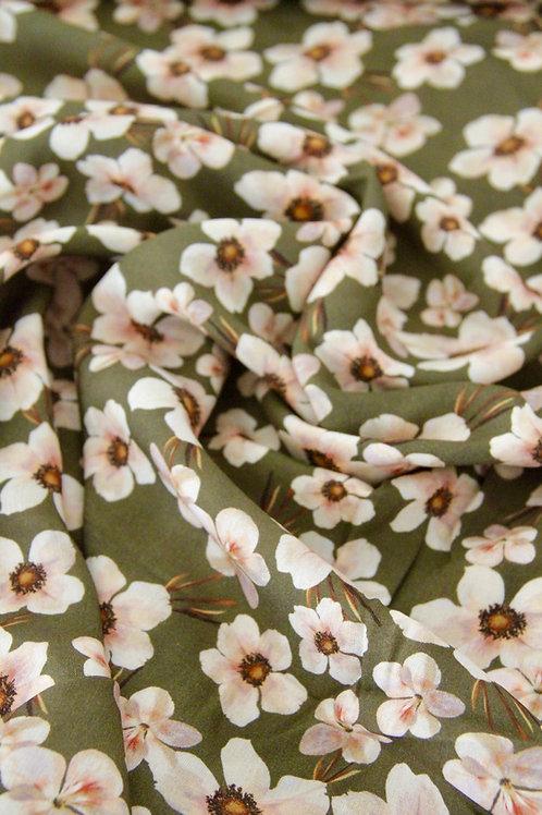 Rayon - Soft Blossom Grey - 1/2 metre