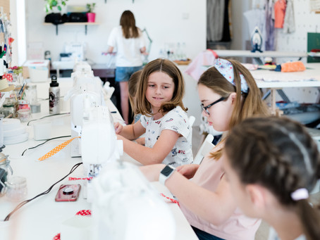 5 Reasons every child should learn to how to sew