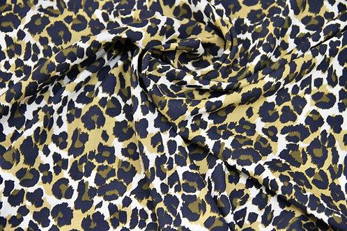 Deadstock - Rayon Leopard - 1/2 metre