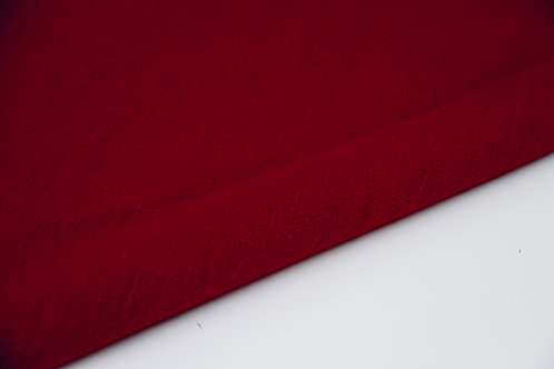 Washed Linen - Cranberry - 1/2 metre