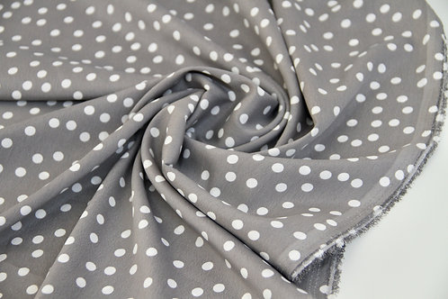 4m Microfibre - Dots Grey