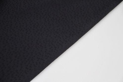 Viscose - Textured Dots Black - 1/2 metre
