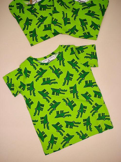 Ethan Tee - Crocs Green