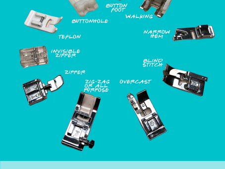 10 Sewing Machine Feet Explained