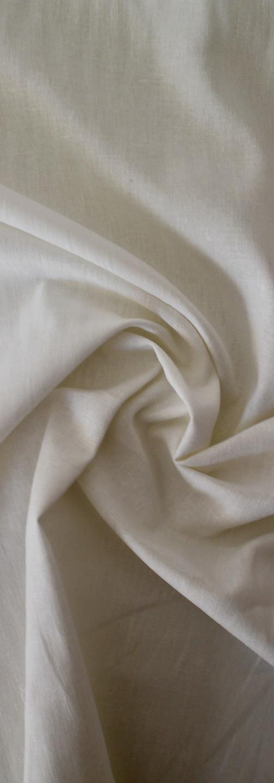 Linen Rayon - White