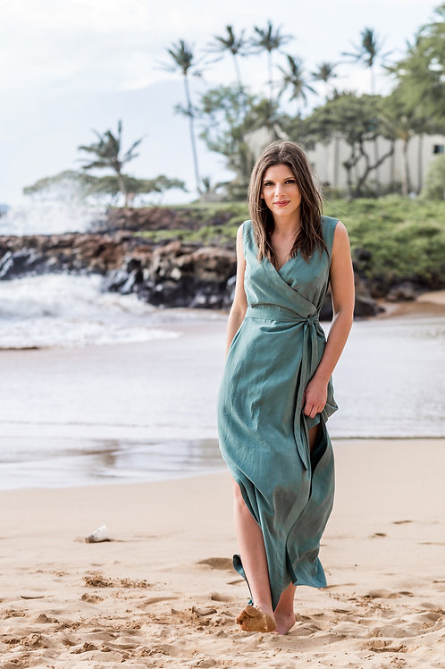Allie Olsen - Highlands Wrap Dress